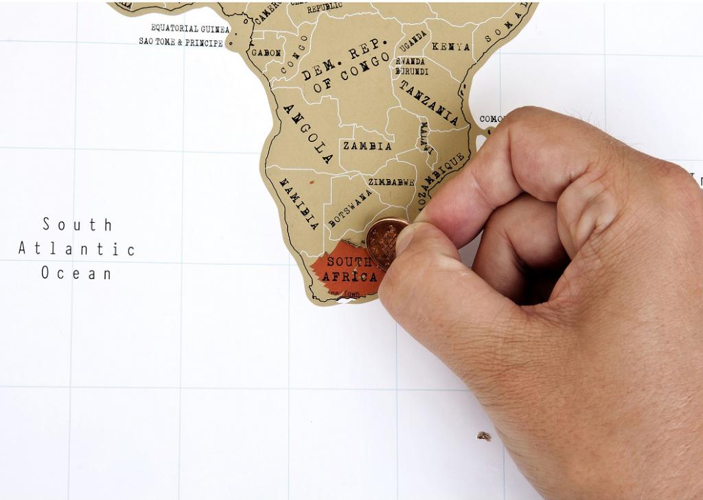 Sudáfrica Mapa