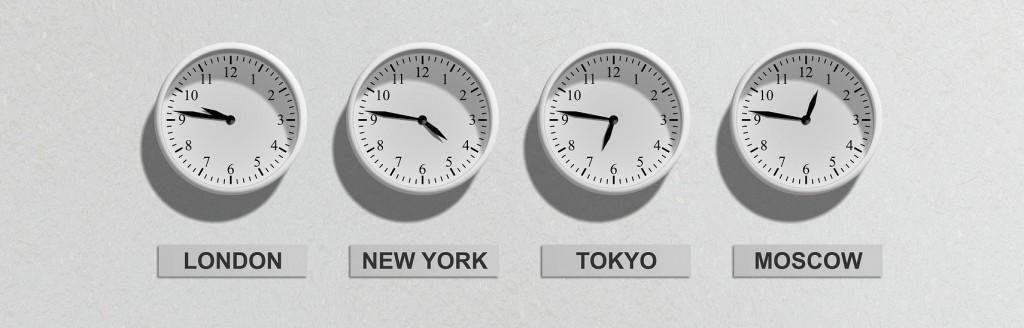 Horarios internacionales
