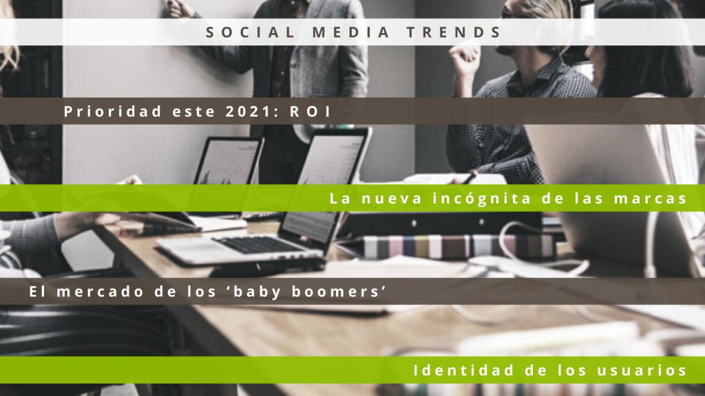Social media trends- roi-usuarios