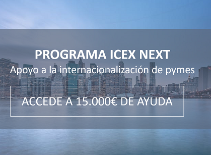 Programa IcexNext 2019 web