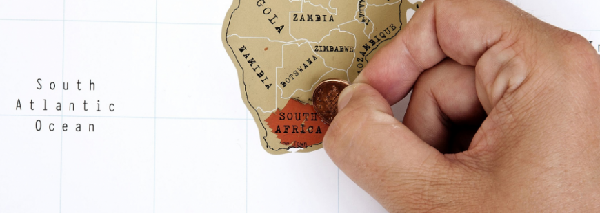 Sudáfrica-Mapa